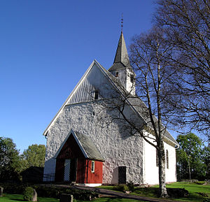 Andebu - Andebu Church (Norwegian: Andebu kirke)