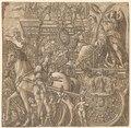 Andrea Andreani - The Triumph of Julius Caesar- Caesar Triumphant - 1930.583.10 - Cleveland Museum of Art.tif