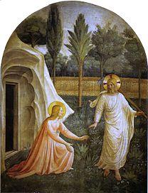 ANGELICO, Fra Noli Me Tangere 1440-42