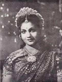 Anjali Devi Indian actress