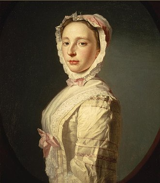 Allan Ramsay (artist) - First wife Anne Bayne, painted by Ramsay