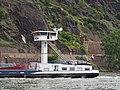 Anroma (ship, 1999), ENI02323909 & Anroma II (ship, 1999), ENI 02324261 & Primero ENI 02335032 & RES V ENI 02329389 on the Rhine near Sankt Goar-Oberwesel pic3.JPG
