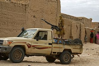 Technical (vehicle) - A technical belonging to the Ansar Dine jihadist group in Timbuktu in 2012