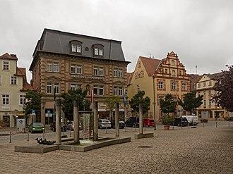 Ansbach - Former building Gewerbevereins Ansbach