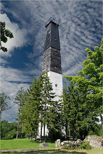 Anseküla - Anseküla lighthouse.
