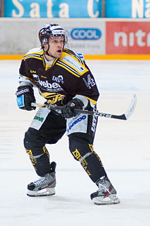 Anssi Löfman Finnish ice hockey player