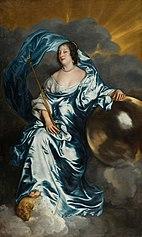 Rachel de Ruvigny, Countess of Southampton, as Fortune
