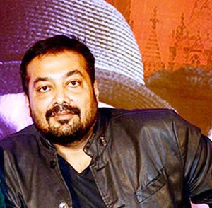 Anurag Kashyap - Kashyap at the trailer launch of Bombay Velvet, 2015