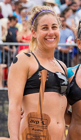 April Ross - Ross at the 2017 AVP Austin Open