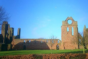 Arbroath Abbey - Arbroath Abbey, showing The Round 'O'.