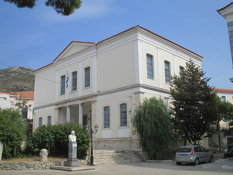 Tiedosto:Archaeological Museum of Samos old building 1.jpg