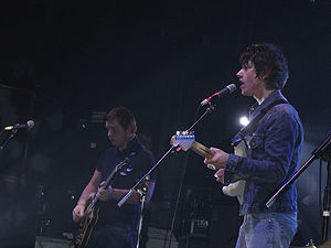 Post-punk revival - Arctic Monkeys on stage in 2006