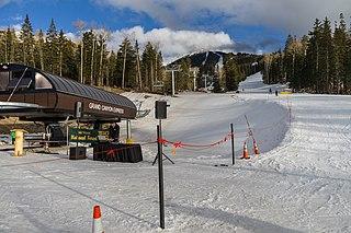 Arizona Snowbowl Ski area in Coconino County, Arizona