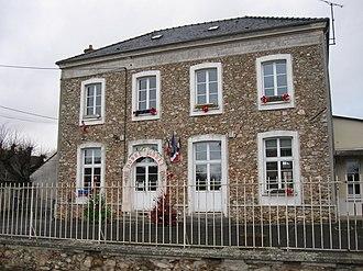 Armentières-en-Brie - The town hall in Armentières-en-Brie