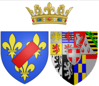 Arms of Maria Luisa of Savoy as Princess of Lamballe.png