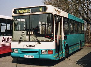 Northern Counties Paladin - Image: Arriva Southern Counties 3132