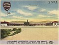 Arrowhead Lodge Motel, Gallup, New Mexico. In the heart of the Indian country, East on U.S. Hiway 66.jpg