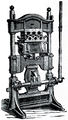 Art of Bookbinding p193 Blocking Machine.png