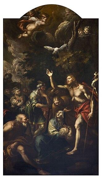 Giulio Cesare Procaccini - Image: Artgate Fondazione Cariplo Doneda Giovanni Stefano, Predica di San Giovanni Battista