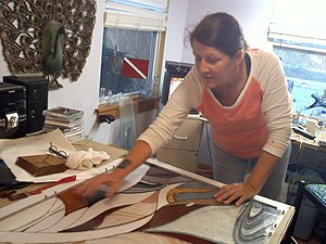 Artist-in-residence - Artist in Residence in the Village of the Arts, Bradenton, Florida, USA