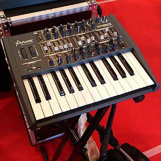 Arturia MiniBrute monophonic analog synthesizer