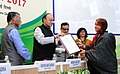 Arun Jaitley gave away the Commendation Certificates to officers of the Income Tax Deptt for their meritorious services, on the occasion of the Income Tax Day Celebration 2017, in New Delhi (2).jpg