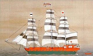 Japanese warship <i>Asahi Maru</i>