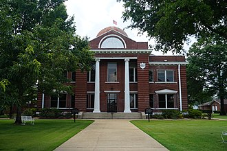 Little River County, Arkansas - Image: Ashdown August 2018 29 (Little River County Courthouse)