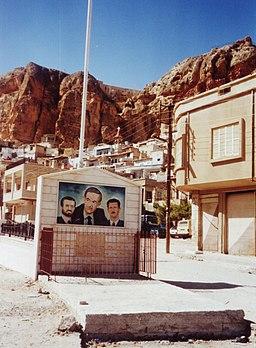 Assad Maalula Syria 2001