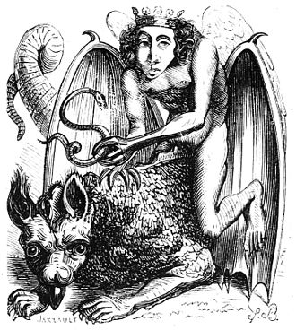 Dictionnaire Infernal - Image: Astaroth