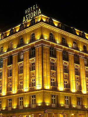 Emil Ágoston - Hotel Astoria, Budapest, 1913