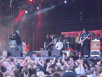 At the Gates - At the Gates performing live at Metaltown Festival in June 2011