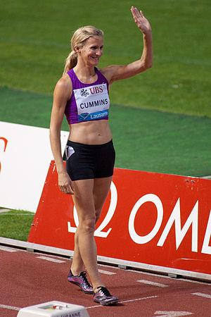 Diane Cummins - Diane Cummins, Athletissima 2012.