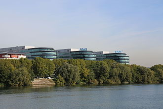 Atos - Atos headquarters in Bezons (France)