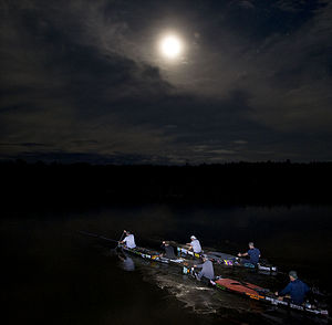 Au Sable River Canoe Marathon by Mark Bialek