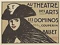 Au théâtre des arts poster - Les dominos sur la musique de Couperin (1911) - Maxime Dethomas.jpg