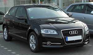 Audi A3 8P III. Facelift front 20100710.jpg