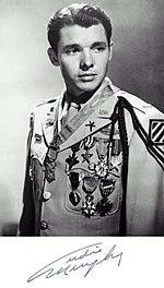 Audie Murphy uniform medals