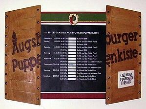 Augsburger Puppenkiste - repertoire box