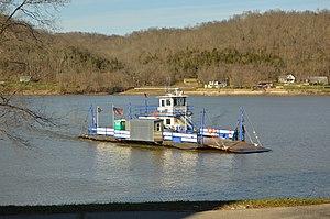 Augusta Ferry - Image: Augusta Ferry approaching Kentucky