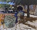 Augustins - Sous les arbres du pavillon rouge - Edouard Vuillard Inv. D 1946 1.jpg