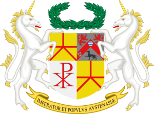 Austenasia - Image: Austenasia Coat of Arms