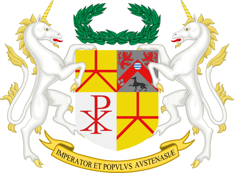 Coat of arms of Austenasia