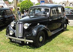 Austin 12 (1939) - Image: Austin 12 August 1946 1465cc