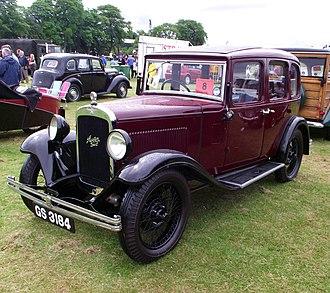 Austin 12/6 - Light Twelve-Six Harley 6-light metal saloon first registered May 1932
