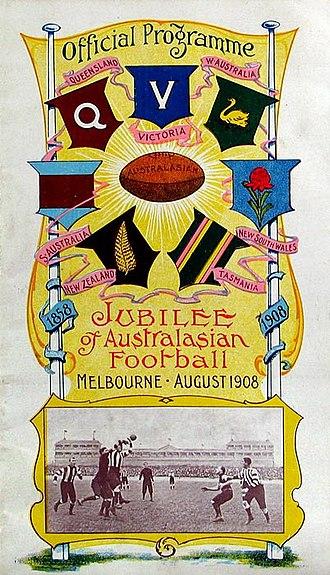 1908 Melbourne Carnival - Official carnival programme