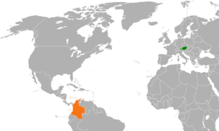 Diplomatic relations between the Republic of Austria and the Republic of Colombia