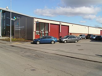 Cardiff and Vale College - Image: Automotive Training Centre