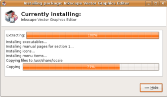 Autopackage - Autopackage installing software.
