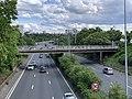 Autoroute A6a vue depuis Pont Avenue Jean Jaurès Arcueil 2.jpg